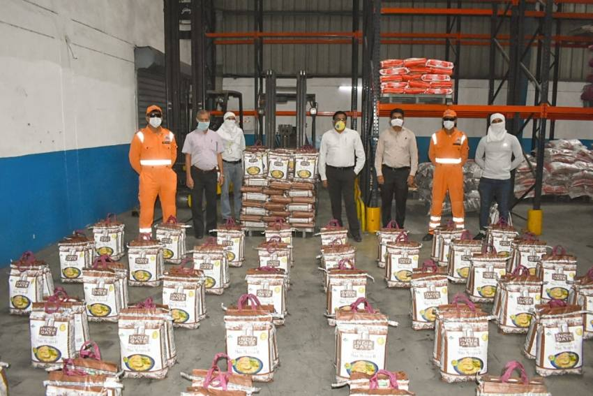 India's Largest Rice Brand Steps Forward To Serve Millions