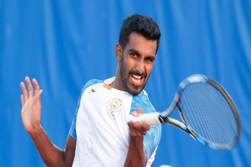 Indian Tennis Ace Prajnesh Gunneswaran Returns To Training After Coronavirus-Induced Hiatus