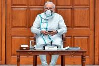 PM Modi Holds Meeting With Senior Ministers, Bureaucrats To Review Covid Situation