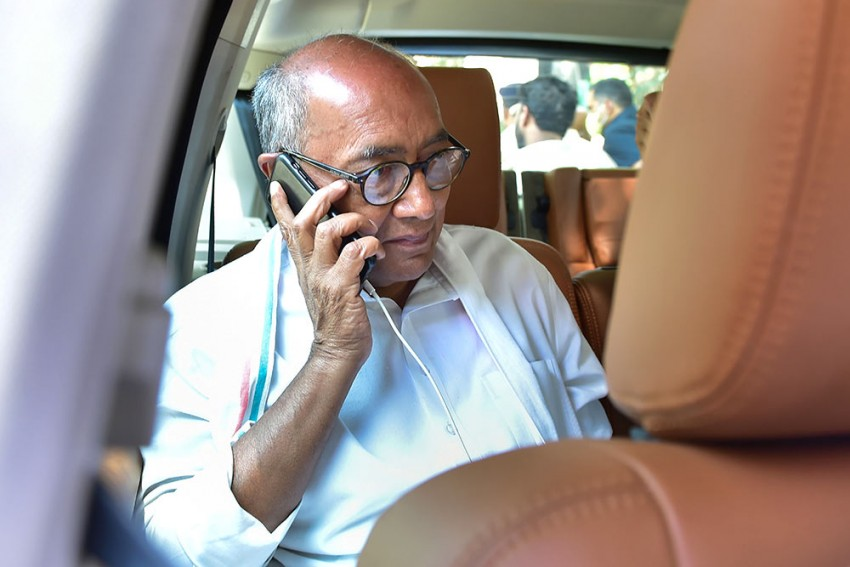 Congress Leader Digvijaya Singh Booked For Sharing Edited Video Of Shivraj Singh Chouhan