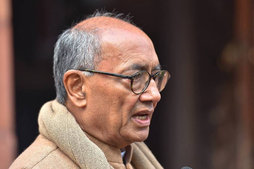 Madhya Pradesh: Digvijay Singh Threatens CM Shivraj With Counter-FIR For 'Fake Video Of Rahul'