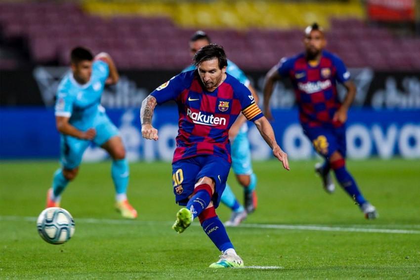 Barcelona 2-0 Leganes: Lionel Messi On Target In Hard-fought Win For La Liga Leaders