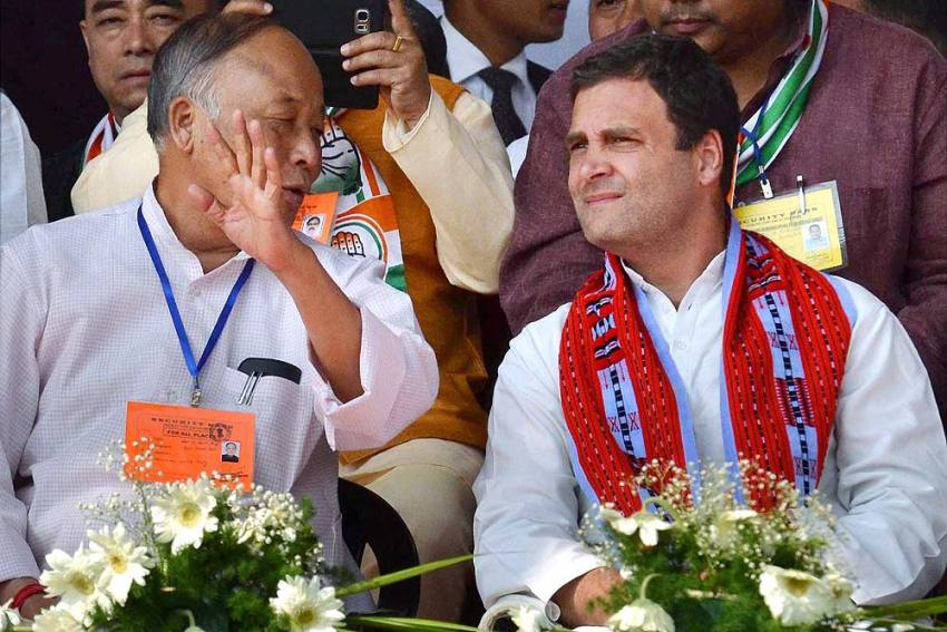 Congress Stakes Claim To Form Govt In Manipur After 9 MLAs Of BJP-led Coalition Resign