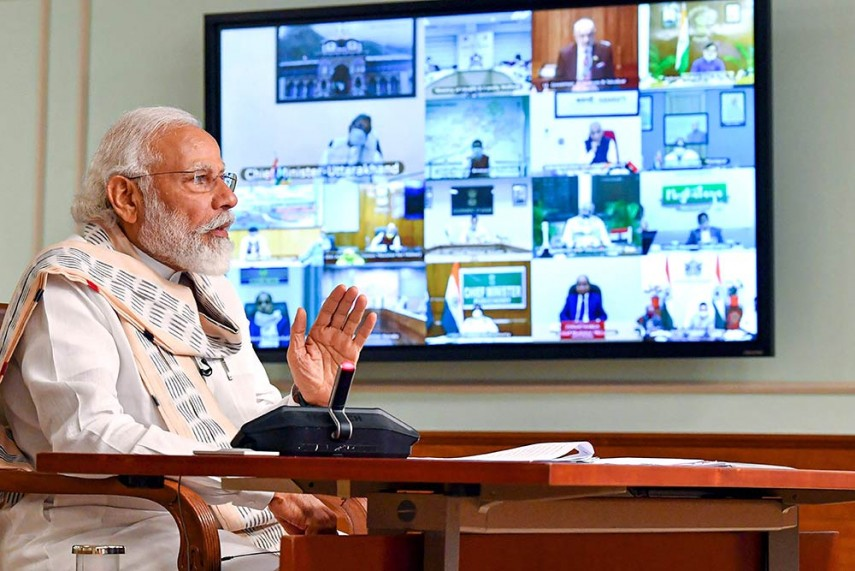 Nobody Intruded Into Indian Territory Or Occupied Any Post: PM Modi At  All-party Meet