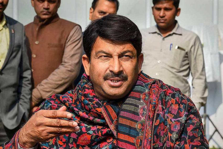 Manoj Tiwari Removed From Delhi BJP Chief's Post, Aadesh Kumar Gupta To Take Over