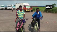 Migrant Sells Wife's <em>Mangalsutra</em> To Buy Bicycles, Pedals From Bengaluru To Odisha