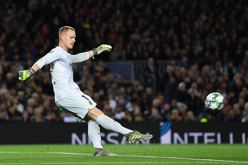 Marc-Andre Ter Stegen Contract Talks Halted By Pandemic But Barcelona Goalkeeper Insists He's Going Nowhere