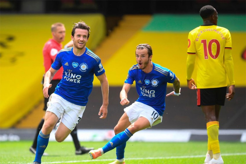 Watford 1-1 Leicester City: Late Craig Dawson, Ben Chilwell Stunners See Premier League Spoils Shared
