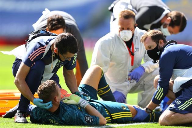 Bernd Leno Horror Injury Against Brighton Adds To Arsenal