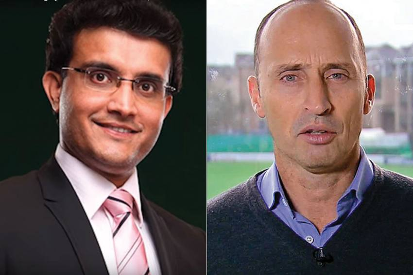 Sourav Ganguly Trolls Nasser Hussain With NatWest Trophy, See Hilarious Posts