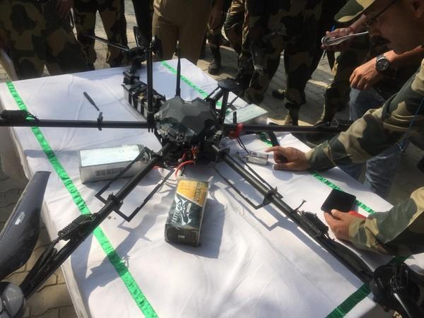 Pak Drone Shot Down By BSF Along International Border in J&K's Kathua