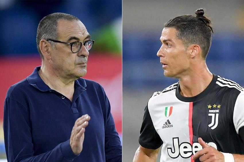 Cristiano Ronaldo And Maurizio Sarri Hold Talks As Juventus Aim To Solve 'Scoring Problem'