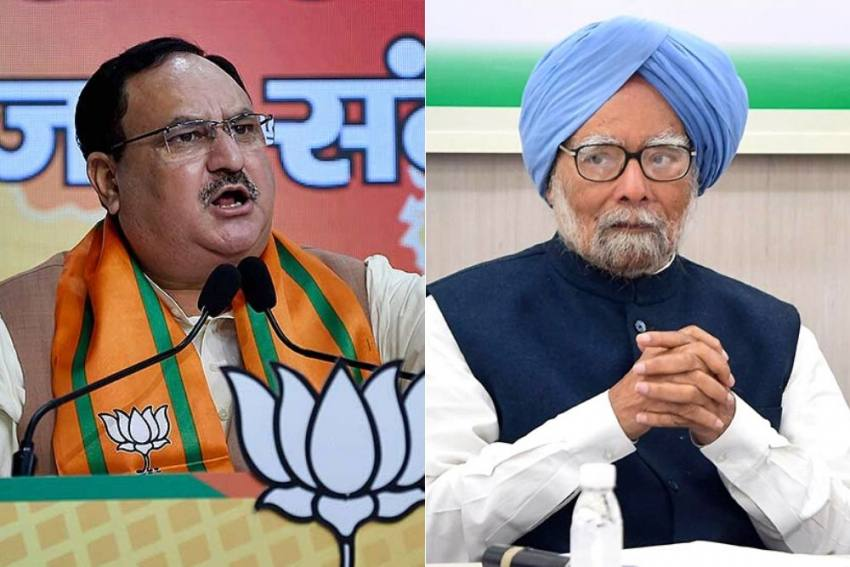 'Stop Insulting Our Forces': BJP President Nadda Hits Out At Manmohan Singh For Ladakh Remarks