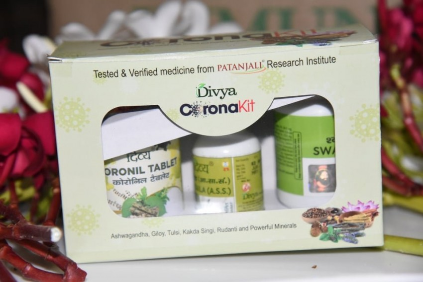 Patanjali Launches 'Coronil' Drug For Covid-19, Claims 100% Patients Recovered In Clinical Trial