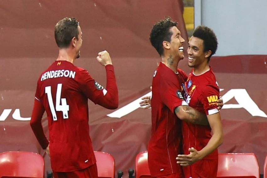 Liverpool Win The Premier League Title