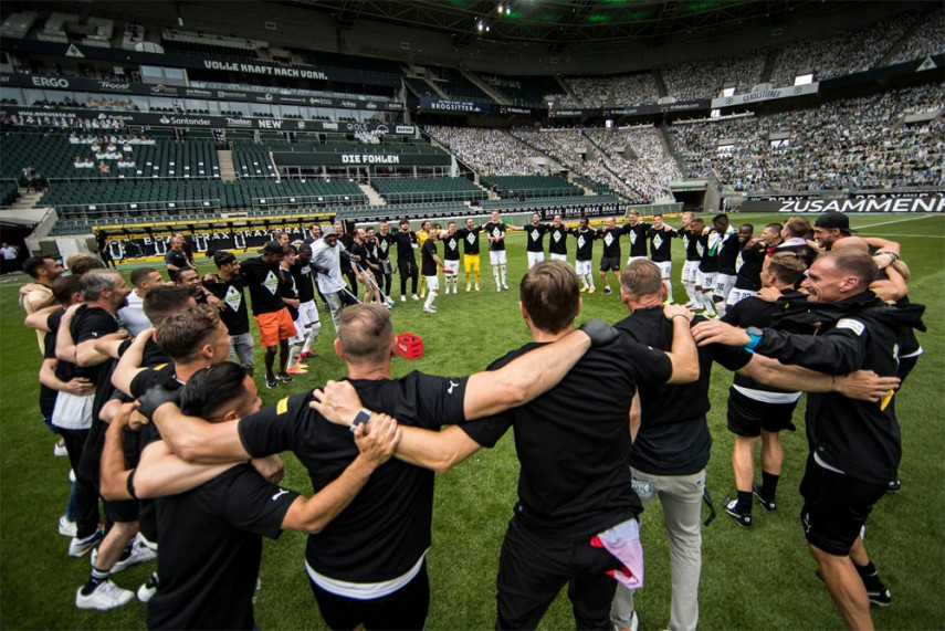 Bundesliga Ends Gladbach Hold Off Leverkusen To Claim Final Champions League Spot