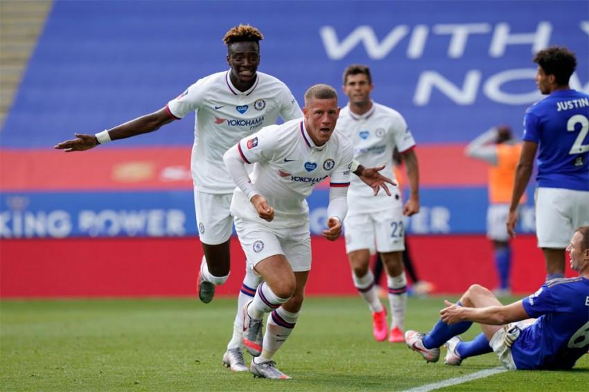 Leicester City 0-1 Chelsea: Ross Barkley Sends Frank Lampard's Men Into FA Cup Semis
