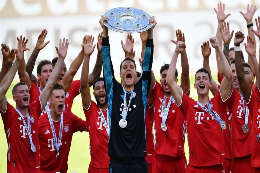 Uli Hoeness Has Treble Feeling For Bayern Munich