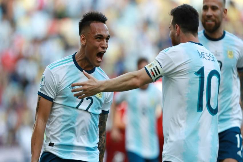If Barcelona Target Lautaro Martinez Plays With Lionel Messi, He Is Much Better: Lionel Scaloni