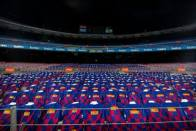 Barcelona Place 3,000 Personalised Shirts On Seats For Atletico Madrid Clash