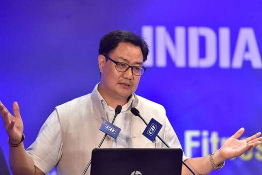 Kiren Rijiju Launches NADA App To Help Athletes Stay Updated On Banned Substances