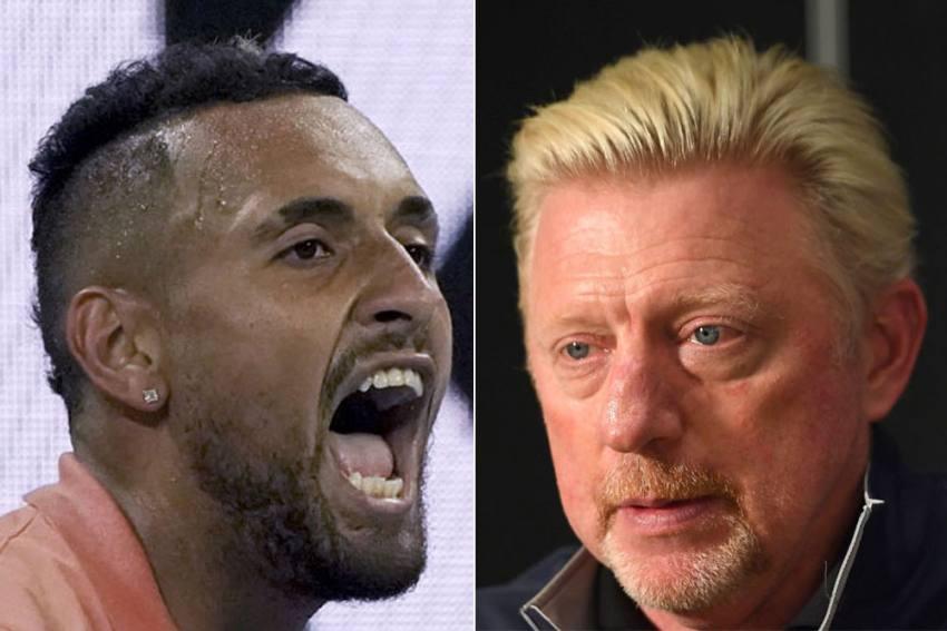 Nick Kyrgios Hits Back At Boris Becker's 'Rat' Accusations Over Alexander Zverev Blast
