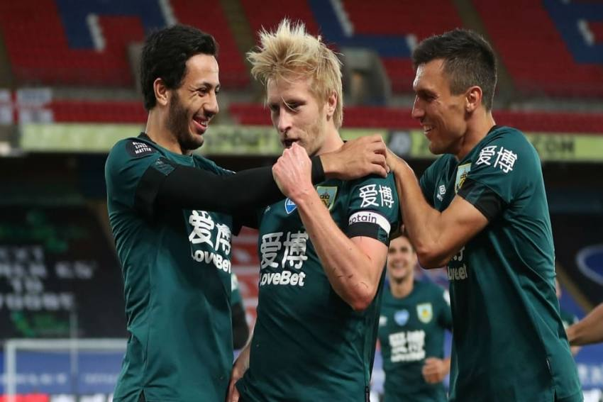 Crystal Palace 0-1 Burnley: Clarets Into Top Half Thanks To Ben Mee Winner