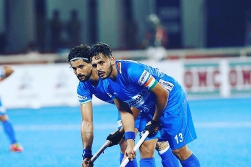 Harmanpreet Singh Thanks Indian Men's Hockey Team Members For Role In Arjuna Award Nomination