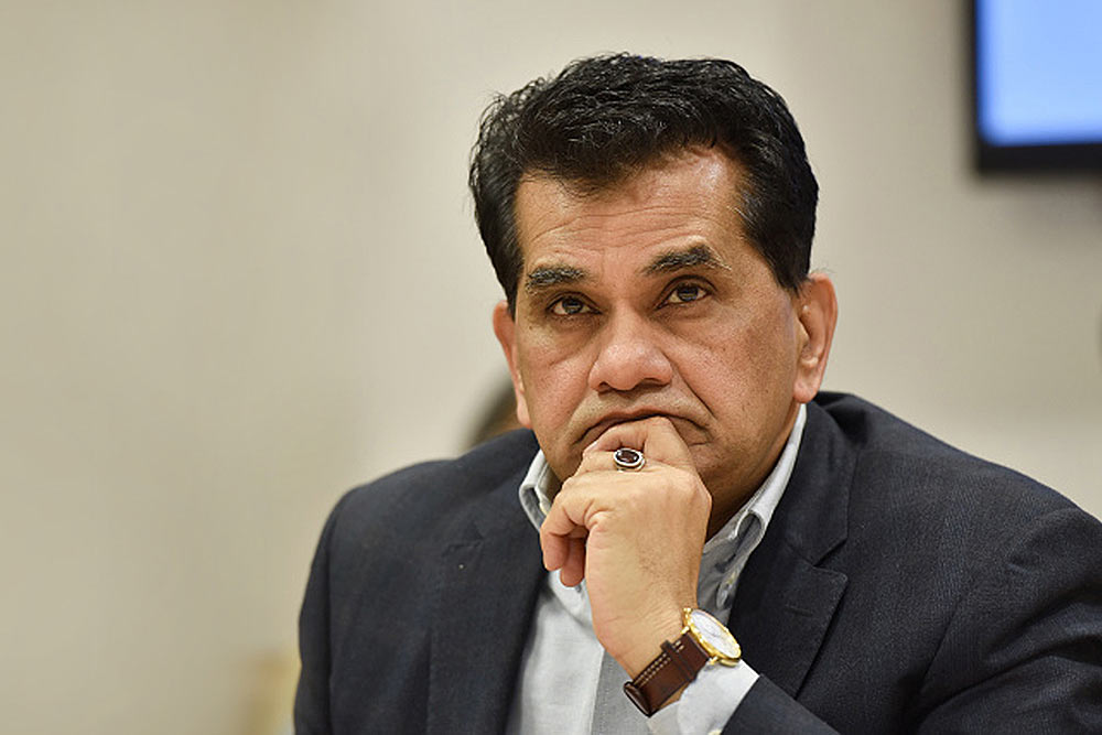 Aatma Nirbhar Bharat Isn't Protectionism, But Making India Self-Reliant: Amitabh Kant