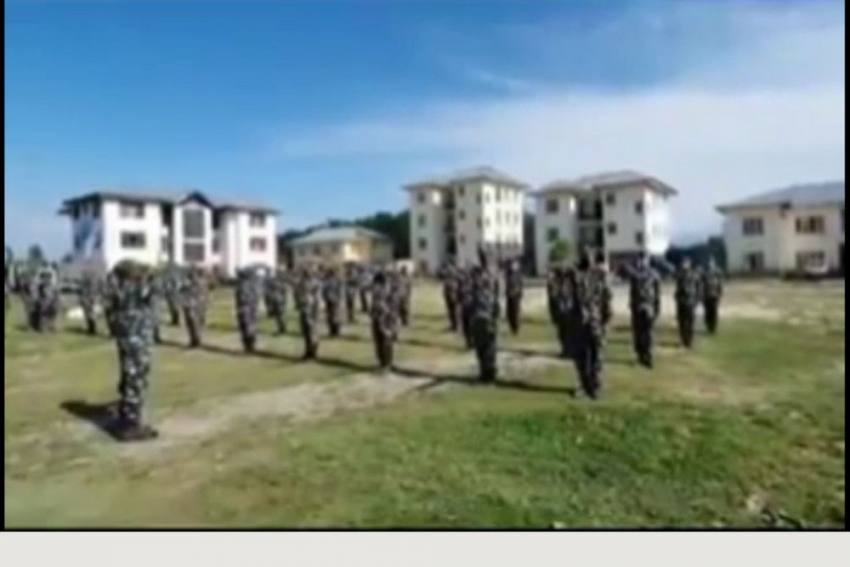 Video: CRPF Personnel In Kashmir Take Pledge To Boycott Chinese Products