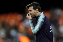 Barcelona Confirm Lionel Messi Quadriceps Injury Blow