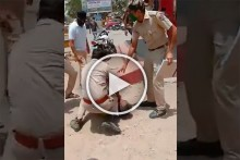 Watch: Rajasthan Cop Kneels Down On Man's Neck For Not Wearing Mask In Public