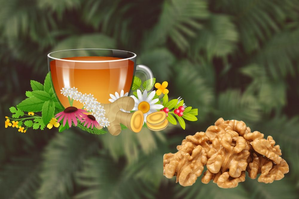 The Amazing Benefits Of Herbs, Tea And Nuts