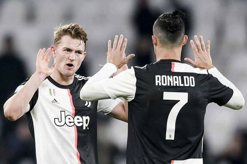 I'm Very Happy At Juventus – Matthijs De Ligt Dismisses Transfer Speculation