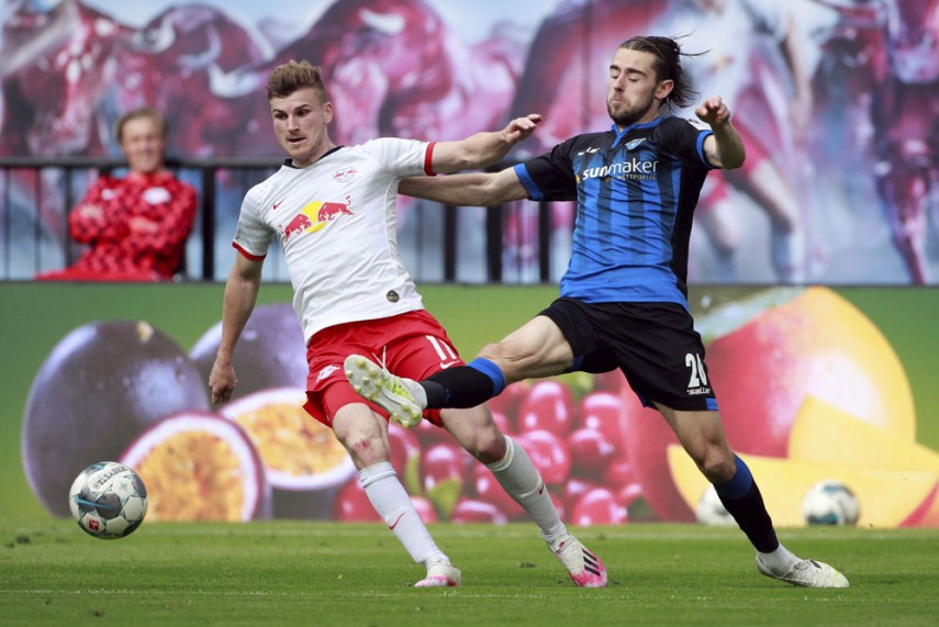 Rb Leipzig 1 1 Paderborn Dayot Upamecano Red Proves Costly As Bundesliga S Bottom Side Earn Point