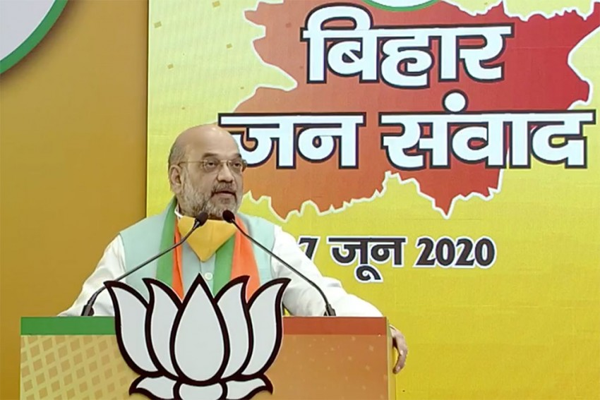 Amit Shah's Virtual Rally May Have Set The Template For Poll Campaign In Bihar