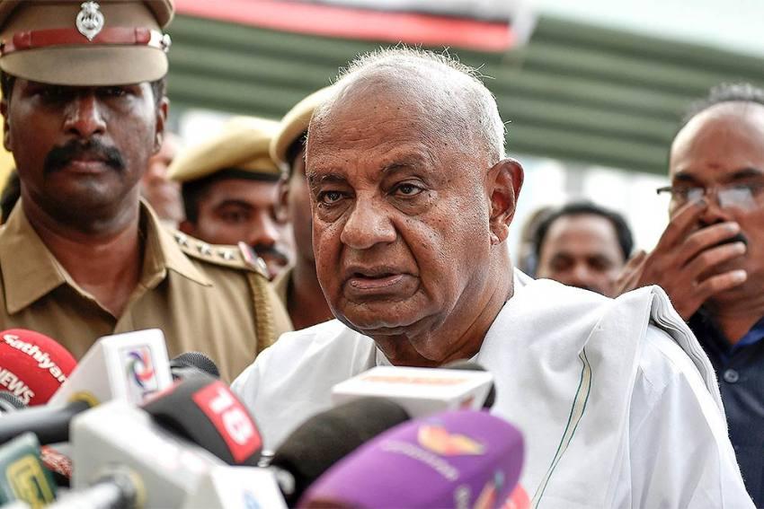 Former PM HD Deve Gowda To Contest June 19 Rajya Sabha Polls From Karnataka