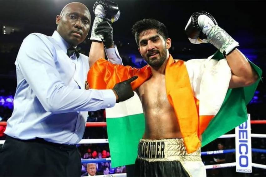Boxer Vijender Singh Set To Fight In Pro Bout With Promoter Resuming Action In US