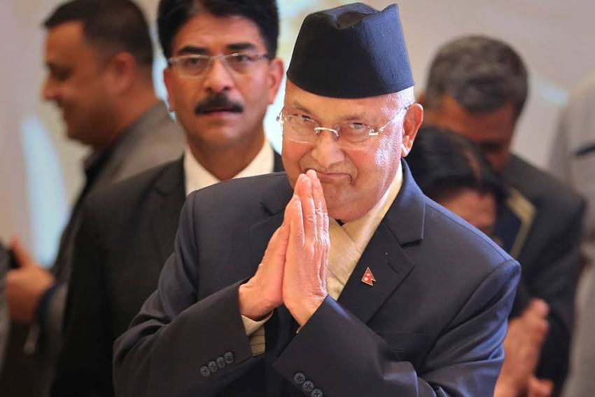 Will Make Every Effort To Consolidate National Unity, Protect Territorial Integrity: Nepal PM Oli