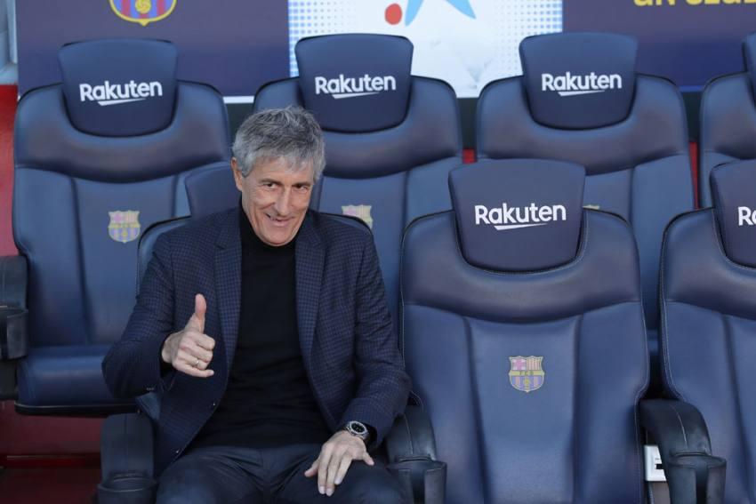 Champions League: Quique Setien Wants Barcelona To Make Most Of Napoli Home Advantage