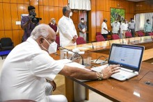 Karnataka CM To 'Work From Home' After Staff Test Positive For Coronavirus