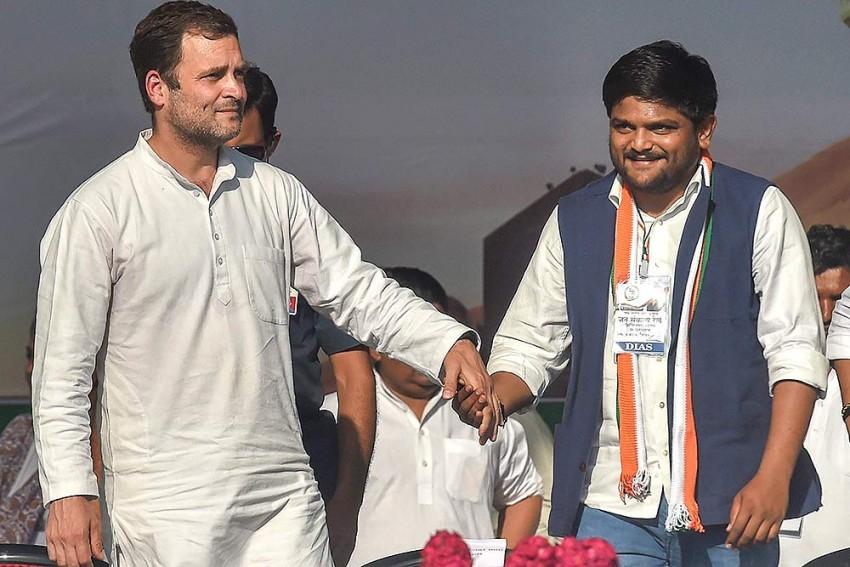 Patidar Leader Hardik Patel Appointed Working President Of Gujarat Congress
