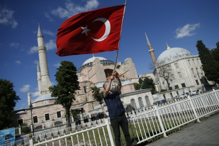 Turkey's President Formally Makes Iconic Hagia Sophia A Mosque