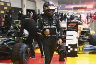 Styrian Grand Prix: Lewis Hamilton Takes Pole At F1's Rain-soaked Qualifying