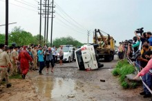Car Carrying Vikas Dubey Tried To Avoid Cattle, But Overturned: Police