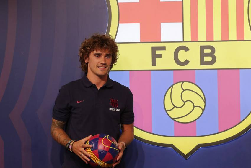 Barcelona Star Antoine Griezmann Sidelined With Thigh Injury