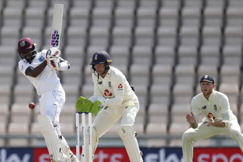 ENG Vs WI, 1st Test: Jermaine Blackwood Keeps West Indies On COurse Of Victory