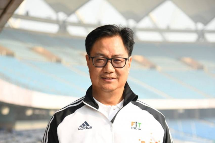 Athletes Should Be Given A Higher Pedestal In Society, Says Sports Minister Kiren Rijiju
