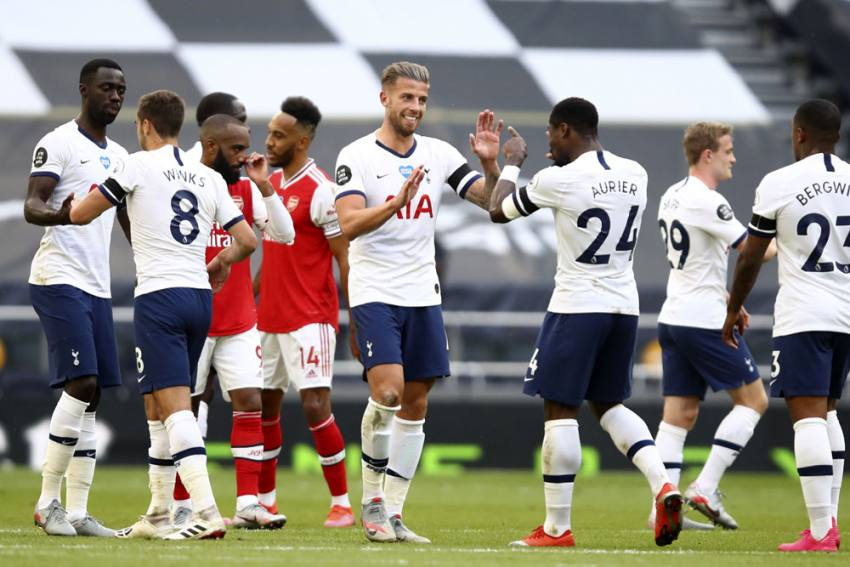 Tottenham 2-1 Arsenal: Toby Alderweireld Settles North London Derby To Boost Spurs' European Hopes
