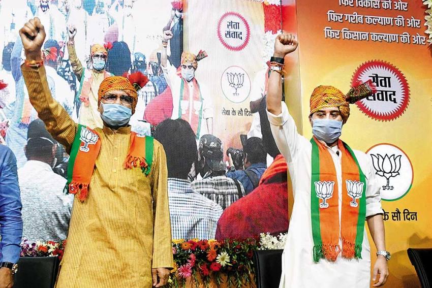 Scindia Loyalists Get Good Share Of Portfolios In Madhya Pradesh Cabinet